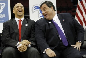 Cory & Christie laugh